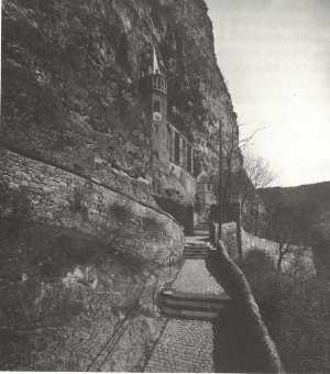 Die Felsenkirche 1927