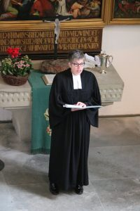 Pfarrerin Zimmer-Schuchs letzter Gottesdienst in der Felsenkirche