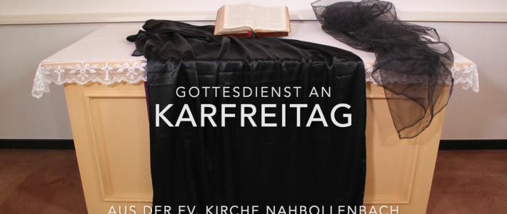 Gottesdienst aus der Ev. Kirche Nahbollenbach